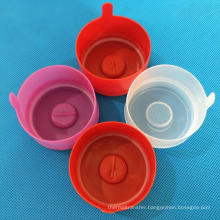 Non-spill Disposable Plastic Jar Lid 5 Gallon 20 Liter Mineral Drinking Water Bottle Caps  5 Gallon Water Bottle Cap With Spout