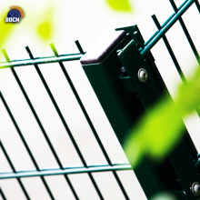 Double horizontal wire safety fence