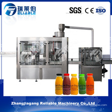 3 in 1 Plastic Bottle Orange Juice Hot Filling Machine