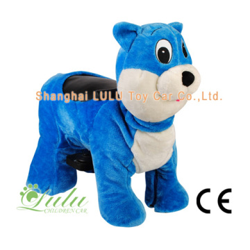Factory directly provided for The Best Walking Animal Rides, Walking Animal Toy, Electric Animal Rides, Battery Operated Walking Animals, Animal Rides Wholesale, Animal Rides For Sale Manufacturer In China. Zippy Ride Blue Cat export to Costa Rica Supplie