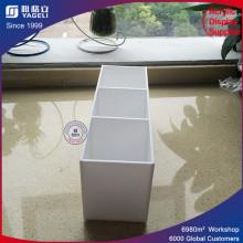 Fabricación promocional Acrylic Cosmetic Stand