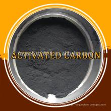Pó com base em madeira de qualidade alimentar Carvão ativado usado em farmácia
