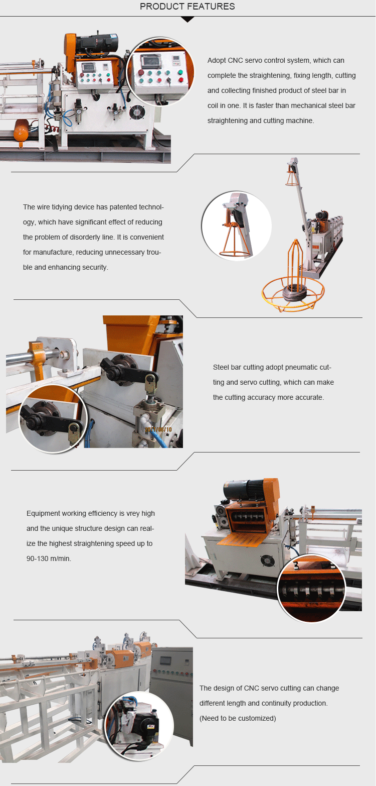 Wire Cutting And Straightening Machine