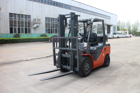 Forklift for Explosive Place