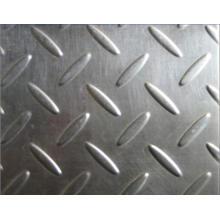 Antiskid Checkered 304 316 Grade Placa de acero inoxidable (XM3-71)