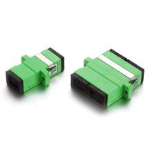 Sc / APC Simplex / Adaptateur fibre optique duplex avec oreille