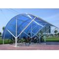 PC \ Polycarbonat Multiwall Blatt für landwirtschaftliches Gewächshaus Material Qualität 10 Jahre Garantie