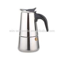 Nuevos productos Cafetera de café espresso portátil de acero inoxidable