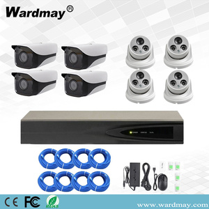 8chs H.265 3.0MP Security Surveillance PoE NVR-kits