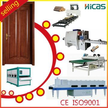 Hicas Woodworking Wooden Door Making Machine