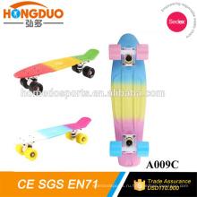 4 колеса мини электрический скутер скейтборд