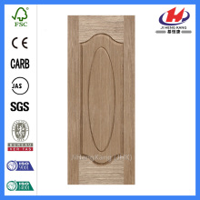 Feuille de porte de placage de HDH / MDF de JHK-000 HK-000Engineered