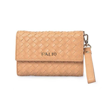 Femmes Dames Portefeuille Clutch Zipper Wristlet Purse