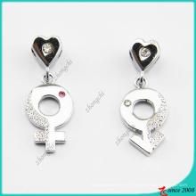 Collar de signo de género femenino y masculino colgante (PN)