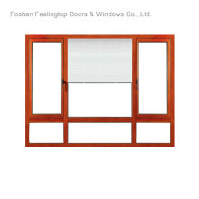 Aluminium Casement Window with Insulated Glass (FT-W80)