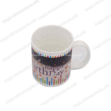 Color que cambia las tazas, taza de la música, taza de la música de la Navidad, taza