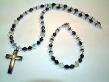 Hematite Set Cross Jewelry