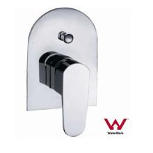 Montaje en pared de baño sanitario de latón de ducha y mezclador de baño (HD581)