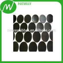 Personalizado Anti Slip Adhesive Silicone Rubber Foot