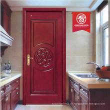 Nova porta de madeira de silide de madeira à prova de fogo à venda