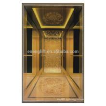 Оптовый фарфор импорт волосяного покрова из нержавеющей стали кадр пассажирский лифт