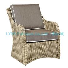 Amerikanische Moderne Design Einzel Wicker Sofa Gartenmöbel