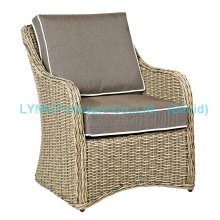 Одиночный плетеный диван