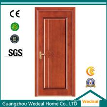 Porte ignifugée de mélamine / PVC / MDF moled pour l'usage intérieur