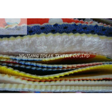 Super Poly flame Bonded with Knitted Fabric for Cushion