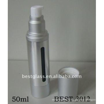 50 мл серебро безвоздушного насос бутылка лосьона