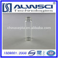 40ML Vial de Almacenamiento transparente Frasco de vidrio con tapas de 24-400 PP