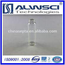 Fabricação 40ML Clear EPA VOA garrafa, frasco de armazenamento borosilicate vidro