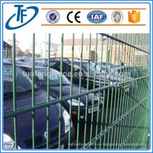 Soldada doble bucle de malla de alambre valla / cerca de alta seguridad
