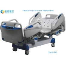 Роскошная многофункциональная электрическая кровать ICU