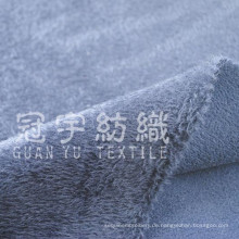 Short Pile Velvet Polyester Stoff für Heimtextilien