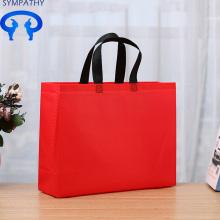 Tas koper non-woven lingkungan menebal warna hitam khusus