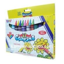 Couleur sombre Enfants crayon de cire / couleur crayon