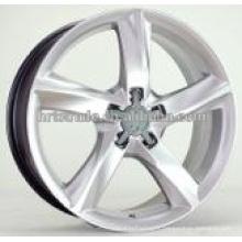 Rond de roue en alliage en aluminium noir à 5 trous de HRTC pour Audi