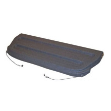 Hatchback Rear Trunk Cargo Cover Package Tray Charcoal Gray