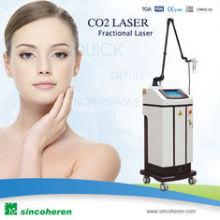 Machine au laser fractionnaire au laser au laser RF Tube USA Orgale pour éliminer les cicatrices chirurgicales, les kératoses actiniques La cicatrice de l'acné La machine à la beauté