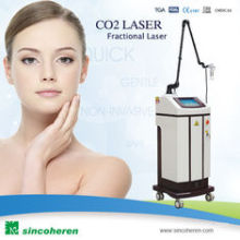 Facial CO2 Fractional Laser Machine RF Tube USA Orginal for Remove Surgical Scars, Actinic Keratoses Acne Scars Beauty Machine