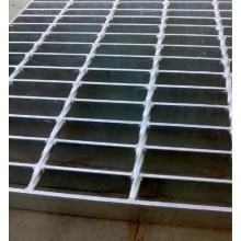 Bar Grating-Open Aço Piso Grating-Lattice Steel Plate-Stair Tread