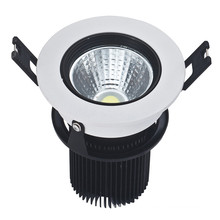 LED de techo de alta luminosidad 9W COB LED de techo Downlight