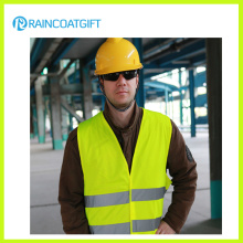 Reflective Safety Vest in Various Colors, Made of 120GSM Ployester Knitting