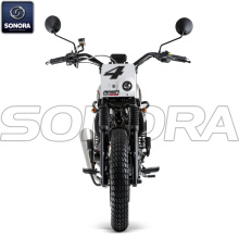 MASH DIRT TRACK 125cc Blanche Body Kit Ricambi originali