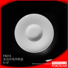 eurohome wholesale porcelain wedding round plate