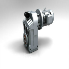 FAF Paralle Shaft Helical Gearbox Dengan Motor