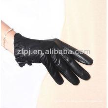 2013 guantes de señoras son guante de cuero femenino de moda