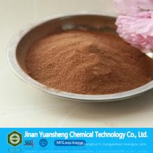 CAS: 8061-52-7 Lignsulfonate de calcium particulièrement l'agent de la poussière de Supperssion