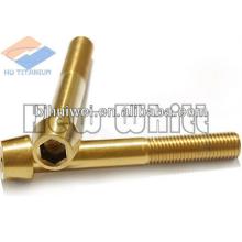 Tornillo de titanio Gr5 DIN912-cono dirigido
